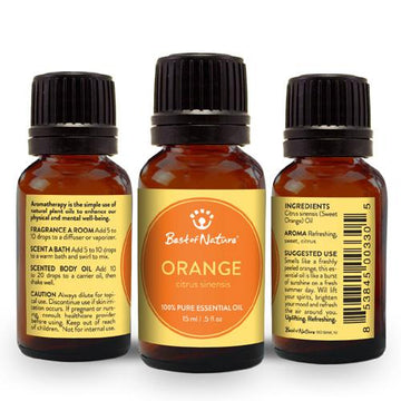 Sweet Orange Essential Oil - Spa & Bodywork Market