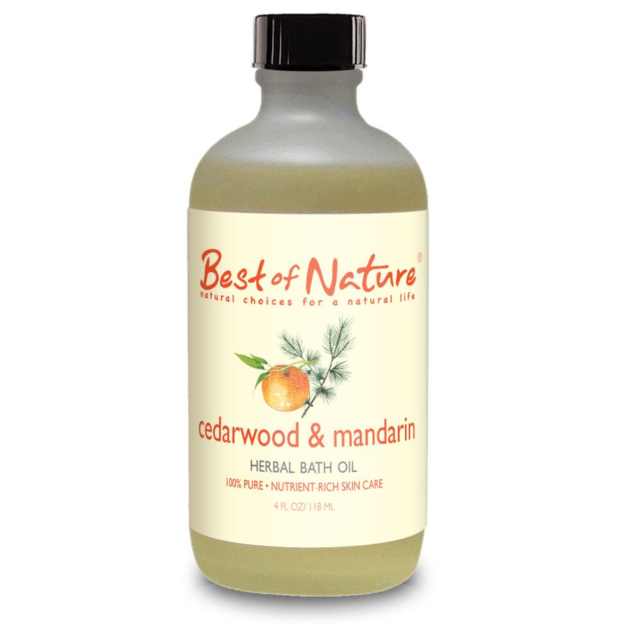 Cedarwood & Mandarin Bath Oil - Spa & Bodywork Market