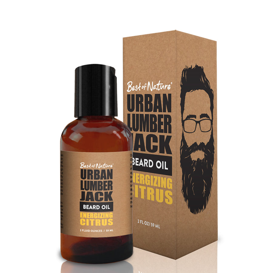 Urban Lumberjack Beard Oil - Energizing Citrus
