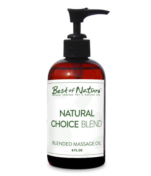 Natural Choice Blend Massage Oil - Professional