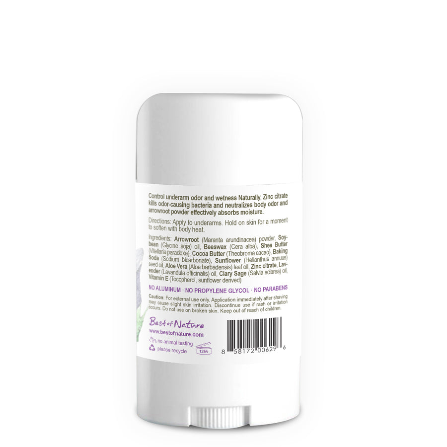 Lavender Breeze Natural Deodorant