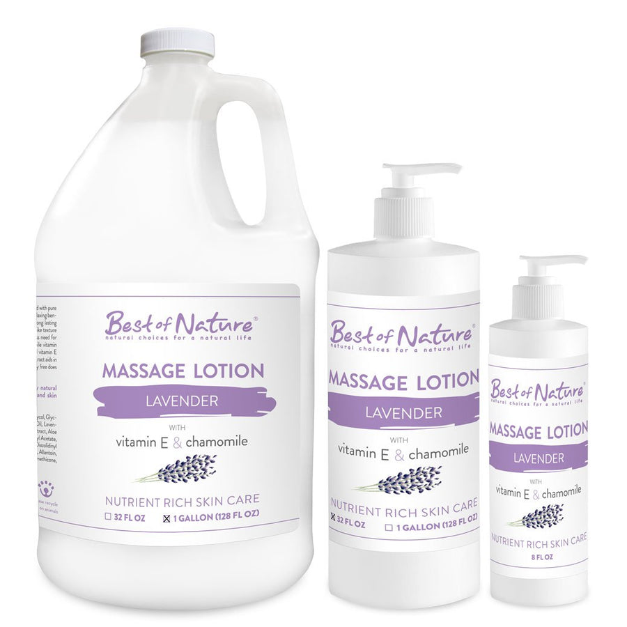 Lavender Massage Lotion - Spa & Bodywork Market