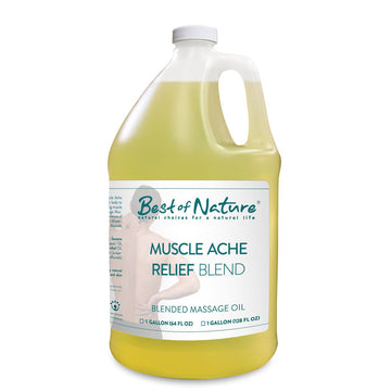 Muscle Ache Relief Blend Massage Oil - Spa & Bodywork Market