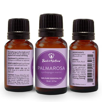 Palmarosa Essential Oil - Spa & Bodywork Market