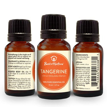 Tangerine Essential Oil - Spa & Bodywork Market