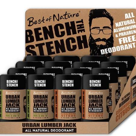 Urban Lumberjack Deodorant Display
