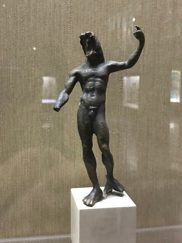 The statue of an Illyrian God