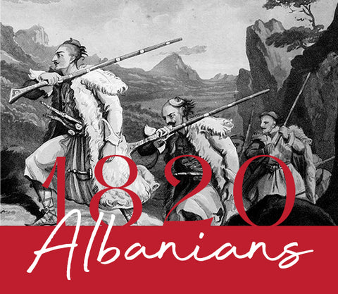 Albanian fighters in the XIX century
