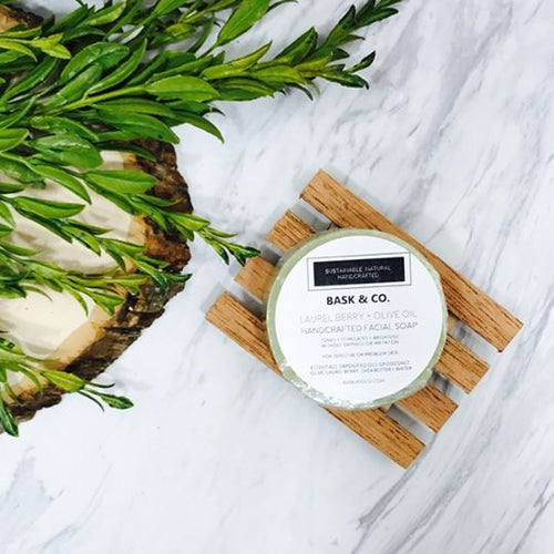 Laurel Berry + Olive Oil Handcrafted Facial Soap
