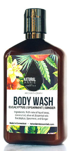 Eucalyptus, Spearmint, and Ginger Body Wash