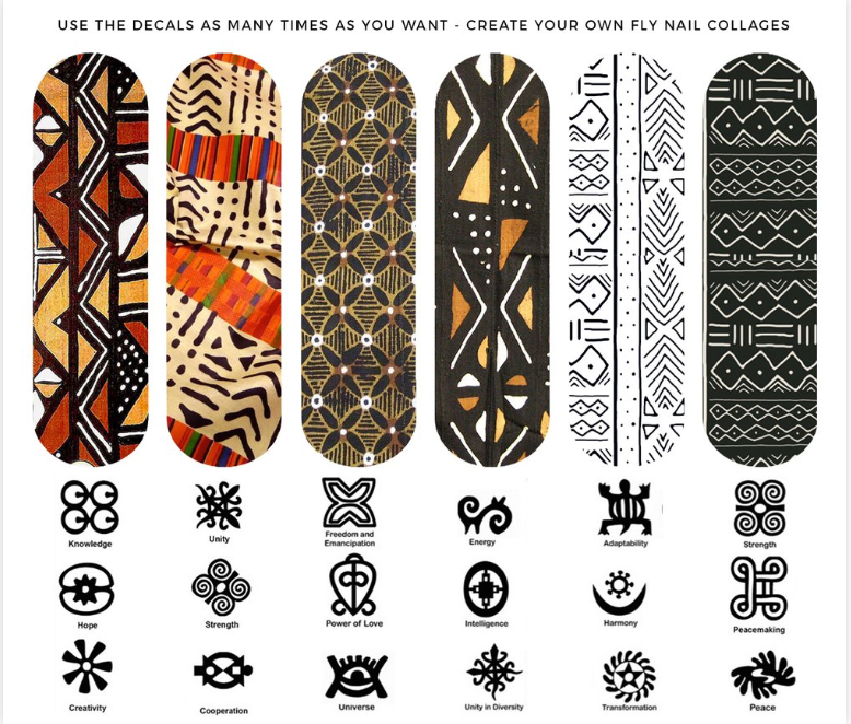 MUD CLOTH & ADINKRA SYMBOLS