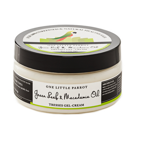 Green Leaf and Macadamia Oil Tresses Gel-Cream