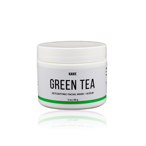 Green Tea Mask + Scrub