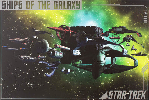 Star Trek - Ships Of The Galaxy