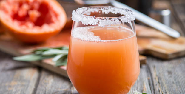 Grapefruit Sage Hydrating Mocktail