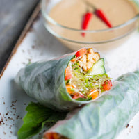 Summer Rolls with Peanut Sauce