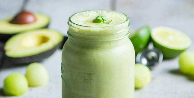 Honeydew Melon Protein Smoothie