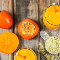 Persimmon Healthy Holiday Smoothie