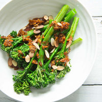 Easy Vegetable Sides: Maple Ginger Broccolini