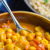 Slow Cooker Easy Chickpea Curry