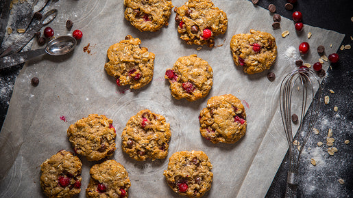 Mystery Box: Cranberry Chocolate Chip Cookies