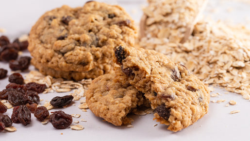 Oatmeal Cashew Raisin Pre-Workout Breakfast Cookies