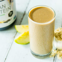 Apple Banana Protein Shake