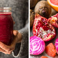 Pomegranate, Grapefruit, Beet Smoothie