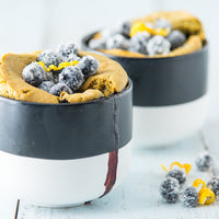 Blueberry Muffin Mug Cake with Lemon