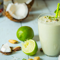 Coconut Lime Brazil Nut Smoothie