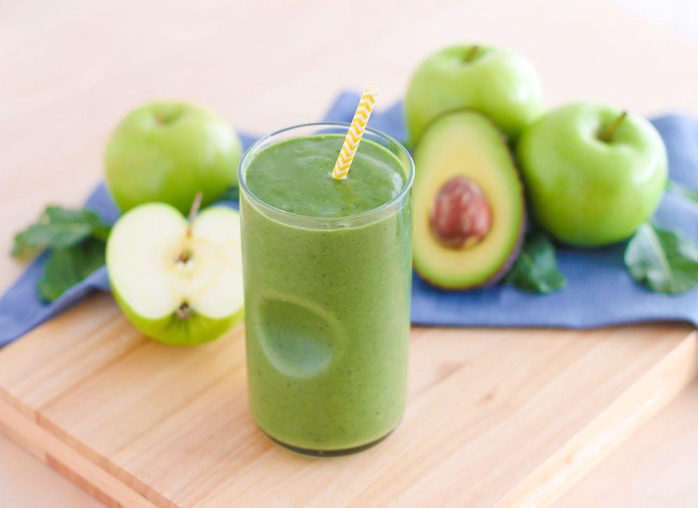 Lean Green Apple Smoothie
