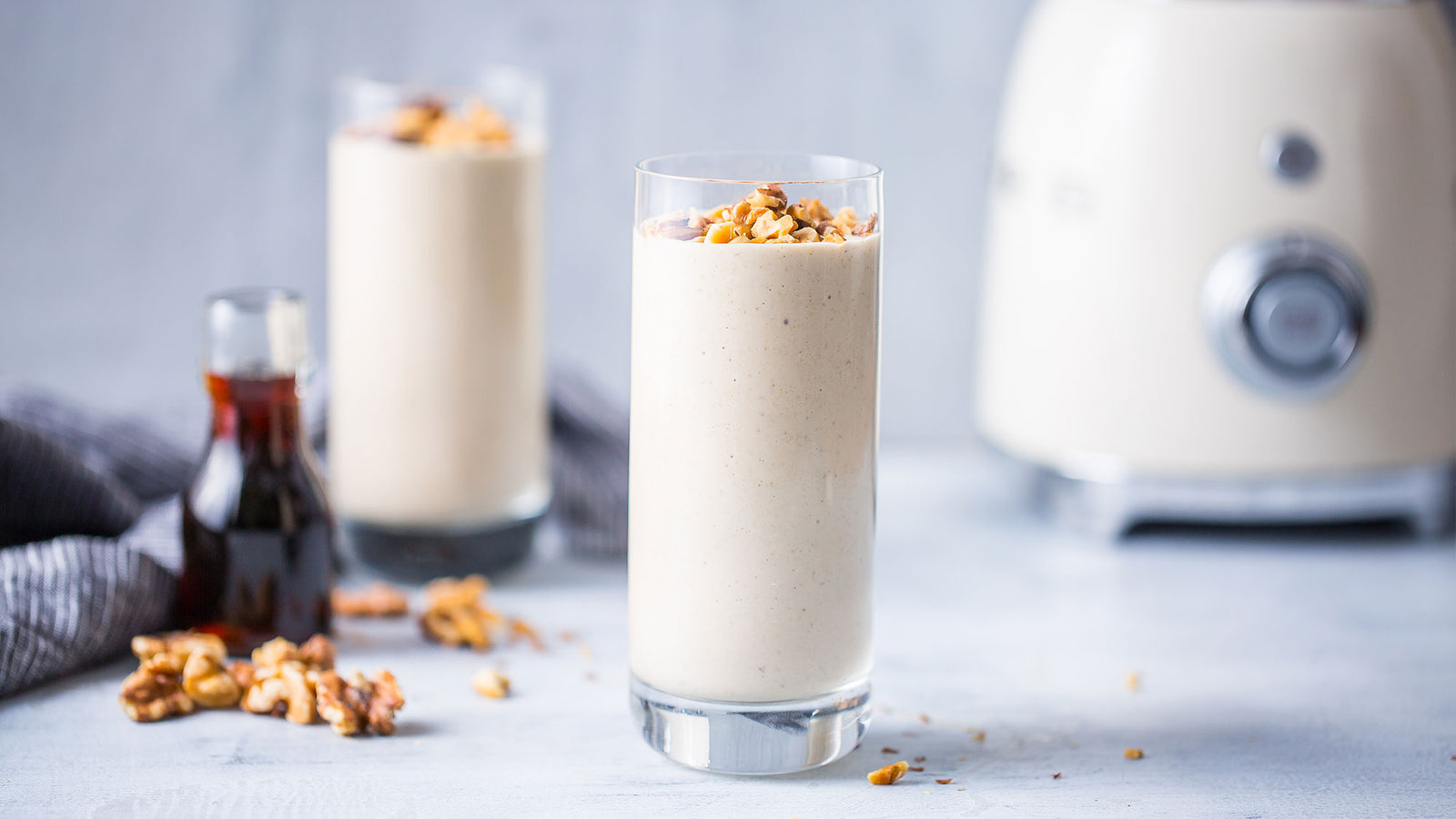 Maple Walnut Protein Smoothie