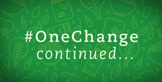 Beyond #OneChange: 5 Ways to Continue Your Progress