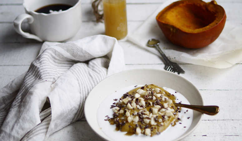 Pumpkin Buckwheat Porridge