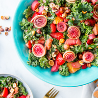 Summer Rhubarb Salad