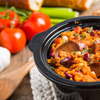 The Best Vegan Slow Cooker Jambalaya