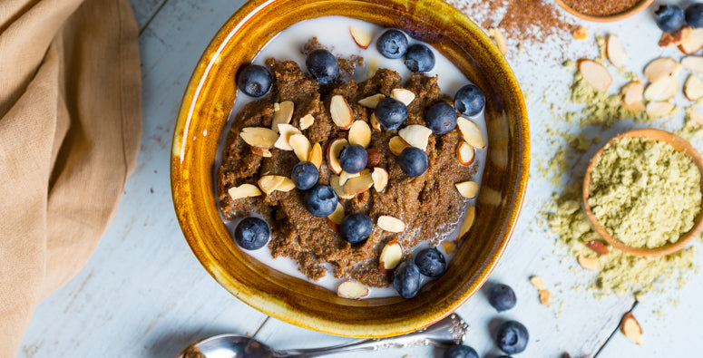 Spicy Teff Porridge