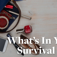 What's in Vegatopians' Everyday Survival Kits?