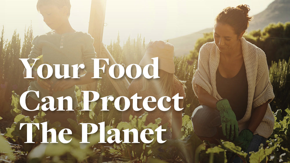 How Your Food Can Protect the Planet