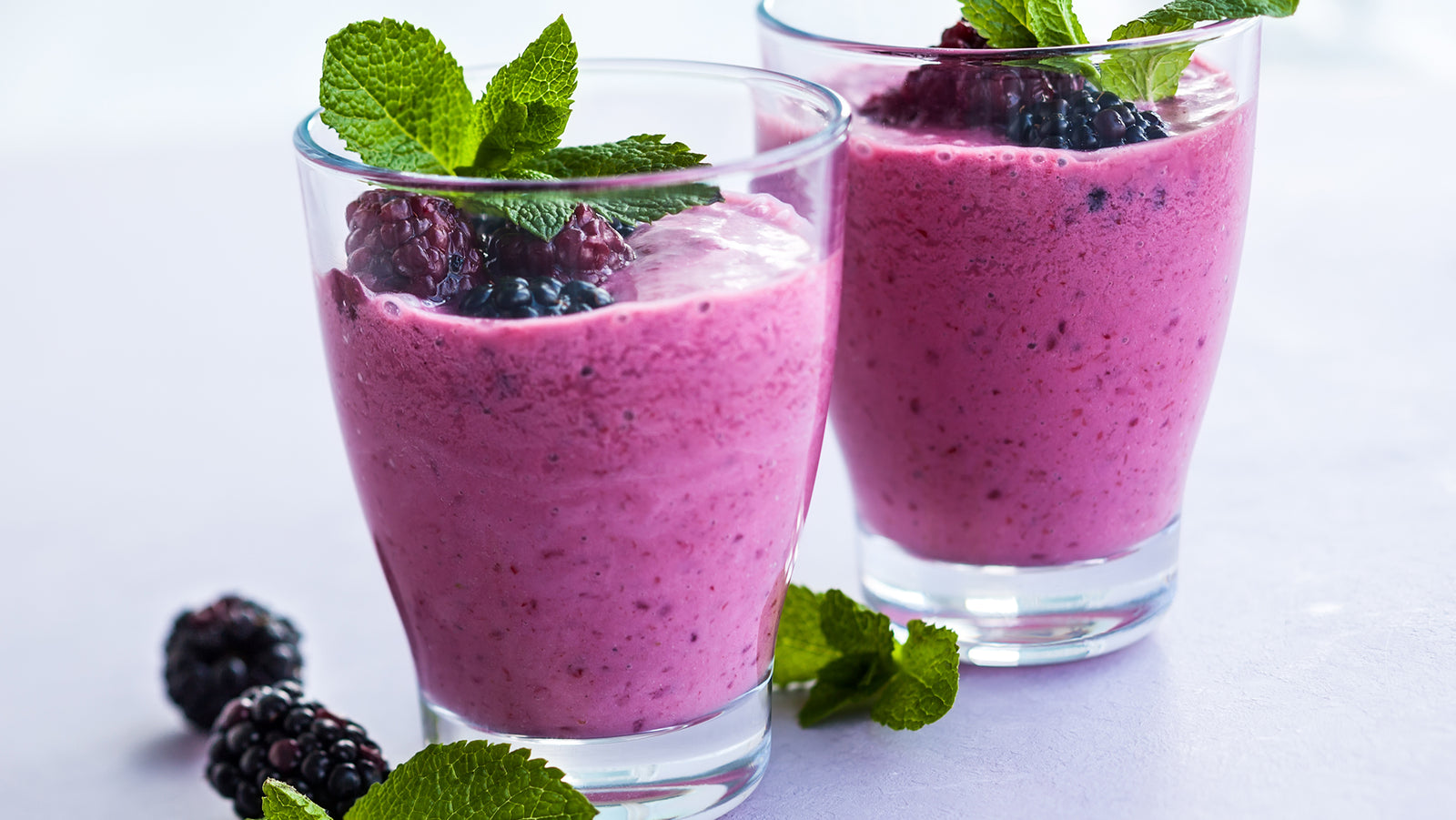 Lime, Fennel & Berry Smoothie