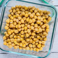 Chickpeas 5-Ways: Meal Prepping with Dried Chickpeas