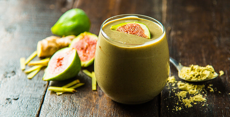 Fig Protein Smoothie