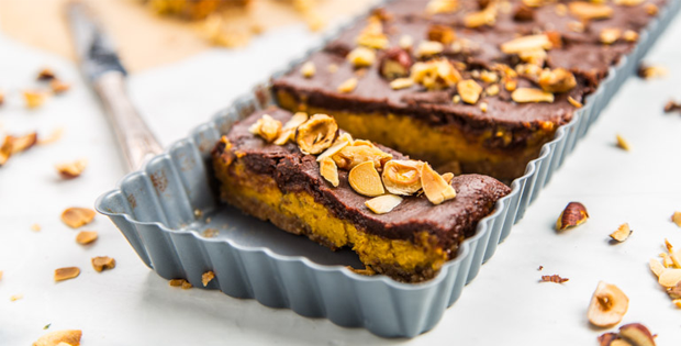 Maca Chocolate Pumpkin Bars