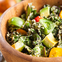 Hemp Seed and Kale Salad