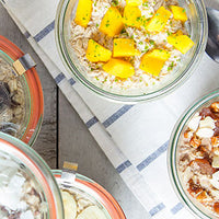 Overnight Oats – 5 Flavors