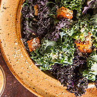 Superfood Kale Caesar Salad