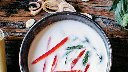Coconut, Lemongrass & Lime Soup