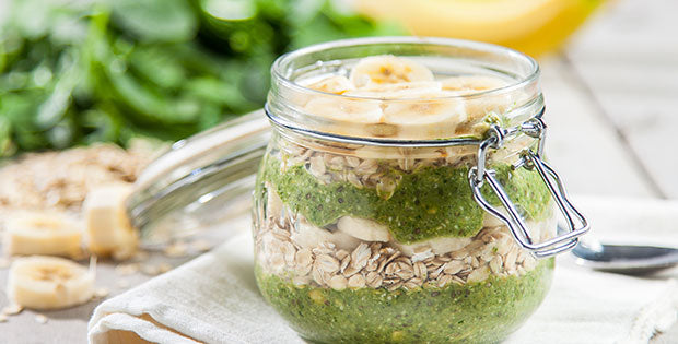 Tropical Protein Overnight Oats