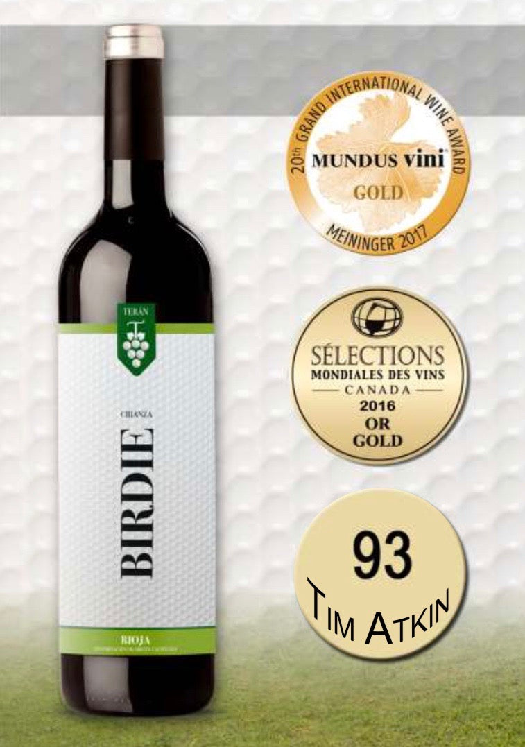 Case of 6 - Birdie 2015 Vintage Crianza Red Rioja