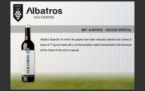 Case of 6 -  Albatross 2015 Vintage Special Edition Reserva Red Rioja